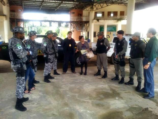 Operação ocorre todos os meses em áreas de fronteira, no Acre (Foto: Divulgação Sesp)