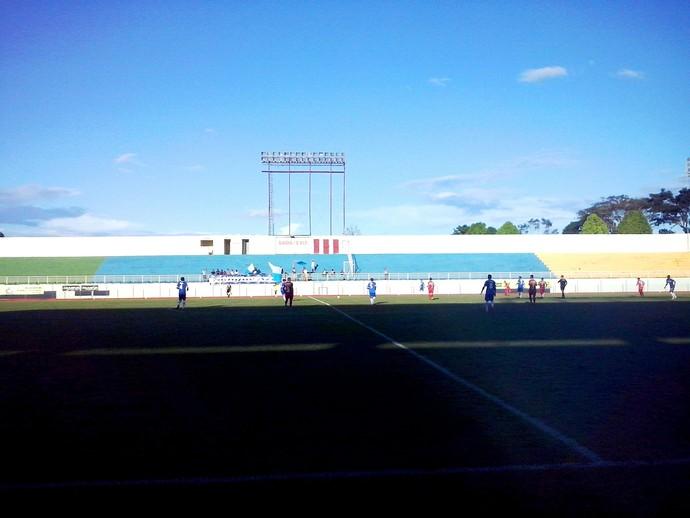 Atlético-AC venceu o Galvez por 1 a 0 e Galvez nas semifinais do Acreano 2014 (Foto: Duaine Rodrigues)