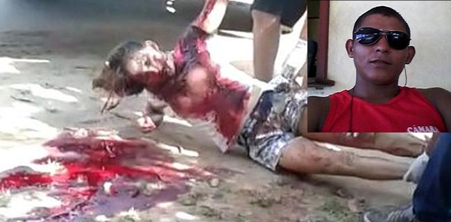 Depois de esfaqueada populares ainda tentaram reanimar a vítima que não sobreviveu as 16 facadas recebidas pelo ex-marido