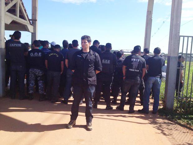 Agentes impediram visitas íntimas na Penal na última semana como forma de protesto
