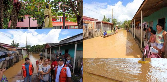 Nível das águas deve subir nas próximas horas (Foto: Gleilson Miranda/Secom)