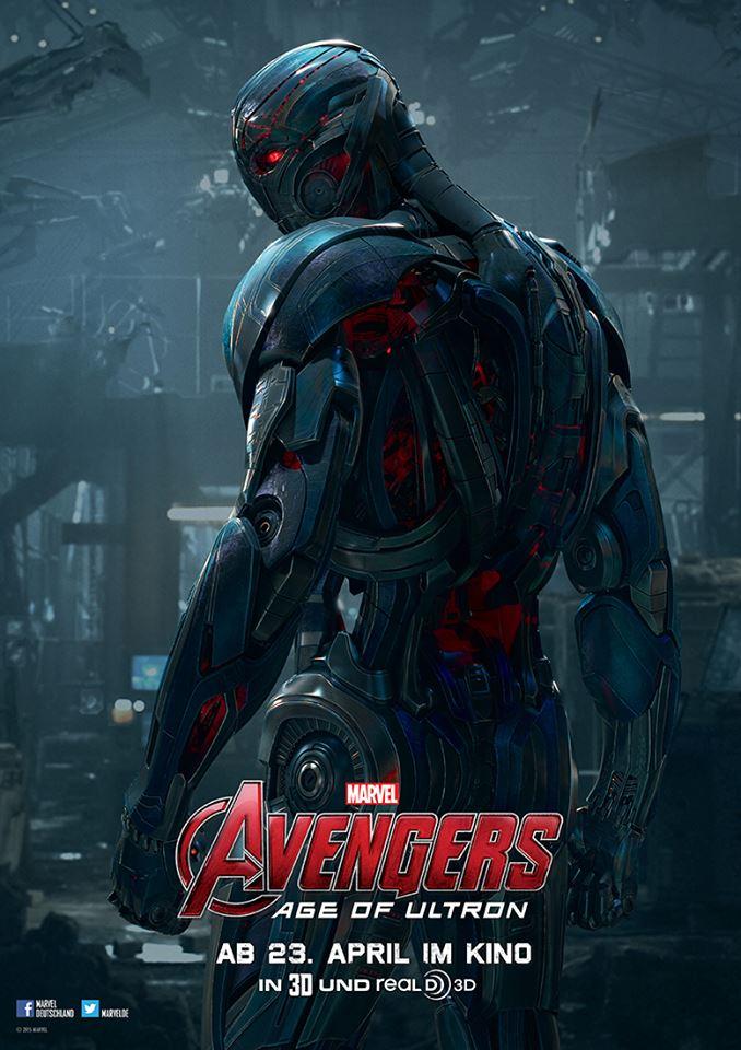 Avengers-Age-of-Ultron-3D-ultron-charakterposter