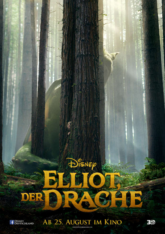 Disneys-Elliot-Der-Drache-3D-deutsches-poster