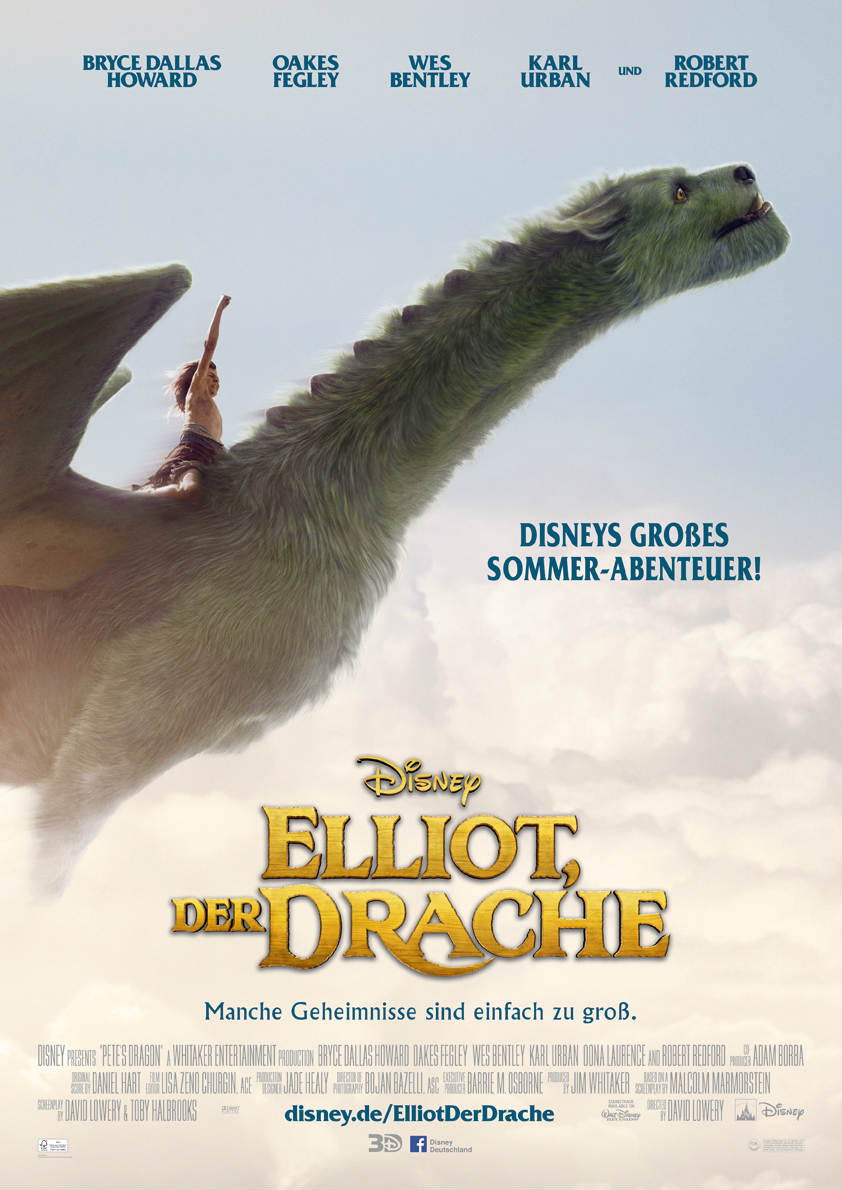Elliot-Der-Drache-3D-disney-poster