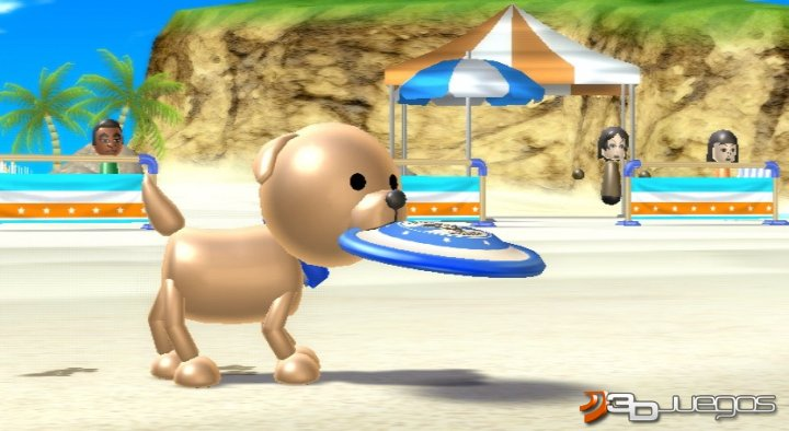 Captura del Wii Sport Resort