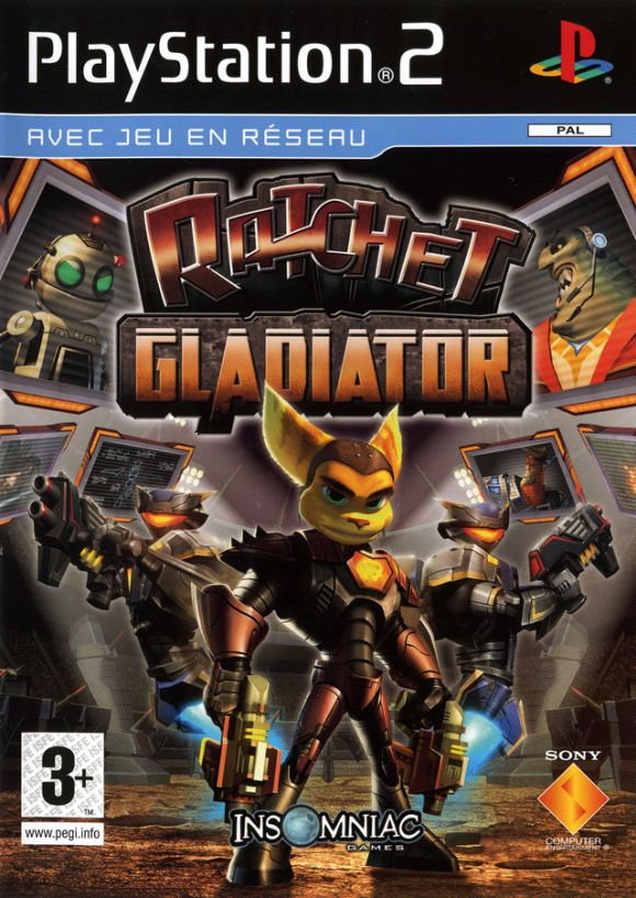 Ratchet Gladiator Para PS2 3DJuegos