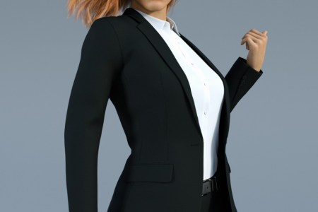 H&C Business Suit A for Genesis 8 Female