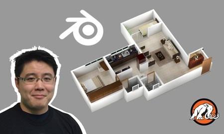 3D House Design in Blender: Make Low Poly Art for Unity!