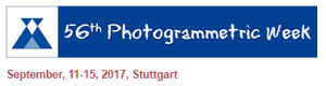 56th Photogrammetric week @ University Of Stuttgart