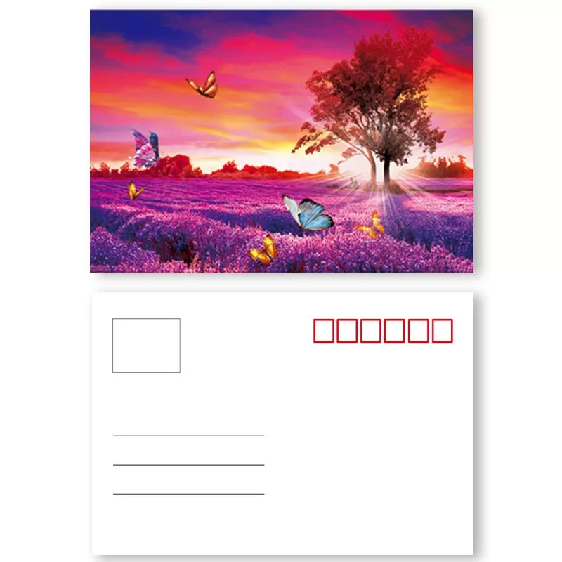 landscape lenticular poster printing pet pp lenticular material flip effect 3d printing images