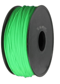 Glow in the dark verde pla