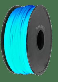 Glow in the dark azul ABS