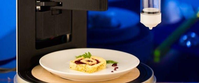 imprima a tua refeição Imprima a tua refeição 3D Food Printer 759x375