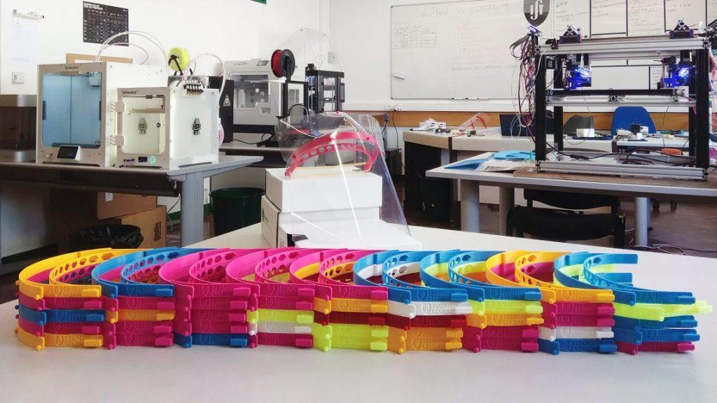 3DMartes contribui com a impressão de viseiras de proteção em 3D investigadores do te cnico produzem viseiras de protecao contra a covid 19 3 1140x641 1 1024x576