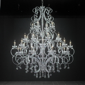 Modern Crystal Chandelier Model 19 3D Model DownloadFree