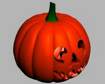 Halloween Pumpkin 3D Models 3D Model DownloadFree 3D