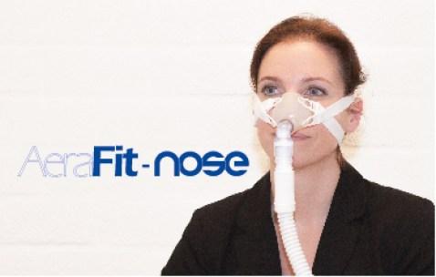AeraFit, NOSE, CPAP, Bipap, masker, beademing