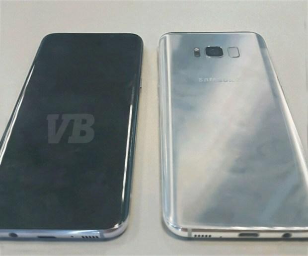 Первое «живое» фото смартфона Samsung Galaxy S8