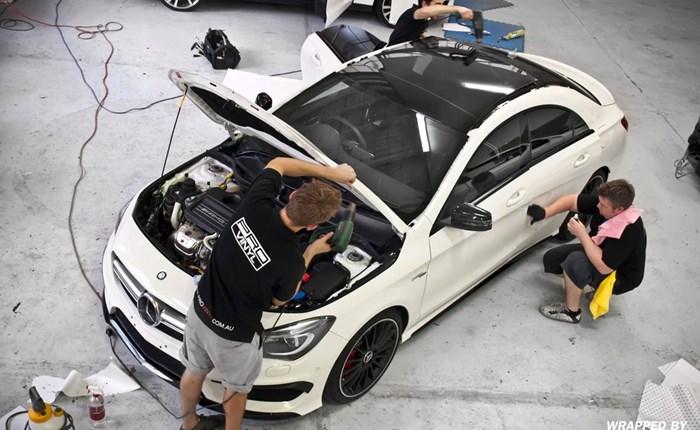 Certified Vehicle Wrap Installers Window Tint