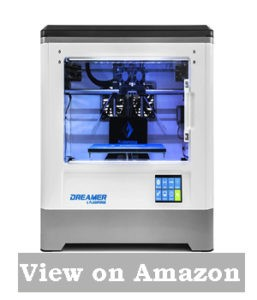 Flashforge Dreamer 3d Printer, Dual Extruder, Fully Enclosed Chamber, W/2 Free Spools