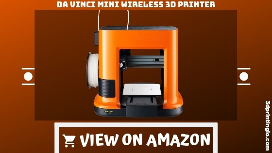 Da Vinci mini Wireless 3D Printer-6″x6″x6″ Built Volume