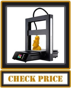 JGAURORA 3D Printer A5 Full Metal Frame Large Print Volume 305X305X320mm Color Touch Screen Resume