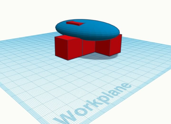 Fiddling with a 3D model in Tinkercad [Source: Fabbaloo]