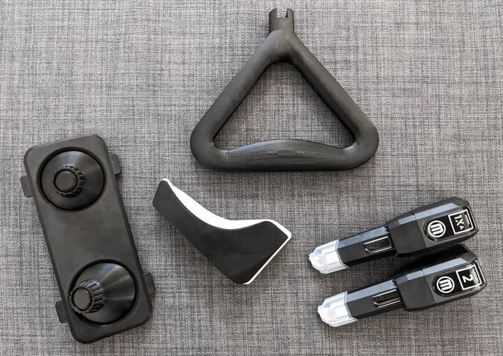 3D prints made from PC-ABS material [Source: MakerBot]