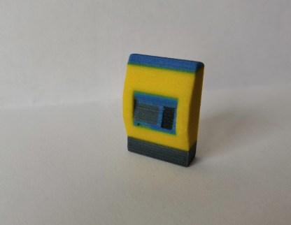 NS kaartjesautomaat 1:87 H0