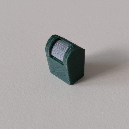 Full color ondergrondse container in schaal H0 3d print