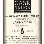 Laphroaig 6, Bourbon Cask