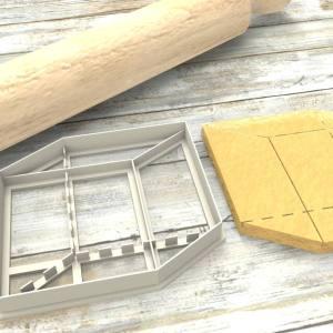 Cubo Formina taglierina per biscotti | Cube Cookie Cutter