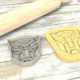 TRANSFORMERS Formina taglierina per biscotti | TRANSFORMERS Cookie Cutter