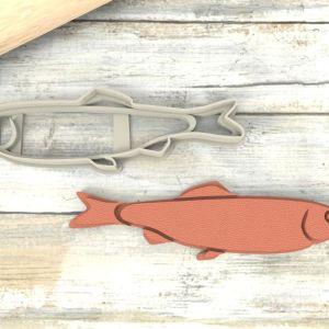 Acciuga Pesce formina per biscotti