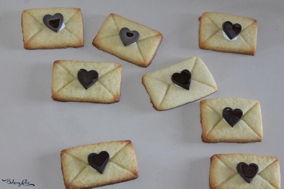 Biscotti lettere d'amore