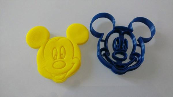 Topolino stampino per biscotti Mickey Mouse Walt Disney