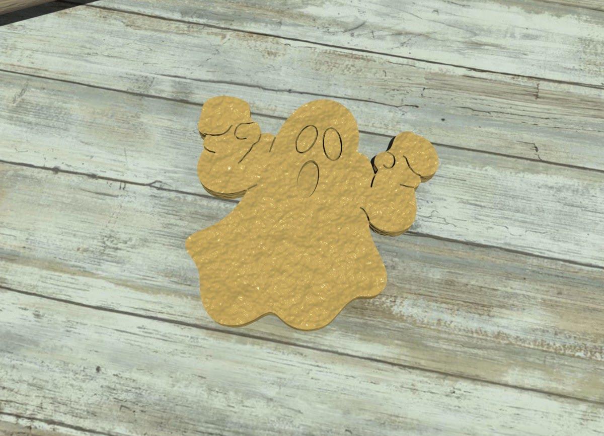 Ghost cookie cutter - Fantasma Halloween · Formine per biscotti Halloween d20e4092dab0