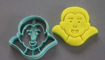 Teschio formine per biscotti Halloween - 3DSMART.IT Cookie cutter 772b1e945008