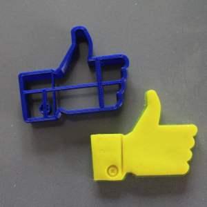 Like di Facebook formina pastafrolla