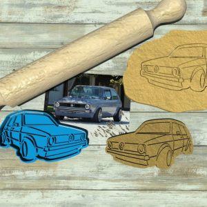 Golf GTI Cookie cutter