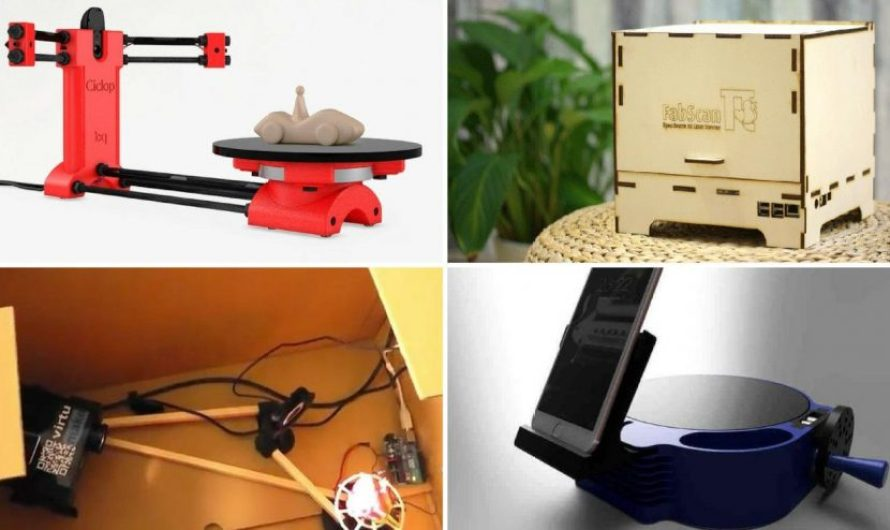 9 Great DIY 3D Scanners You Can Build At Home 2021