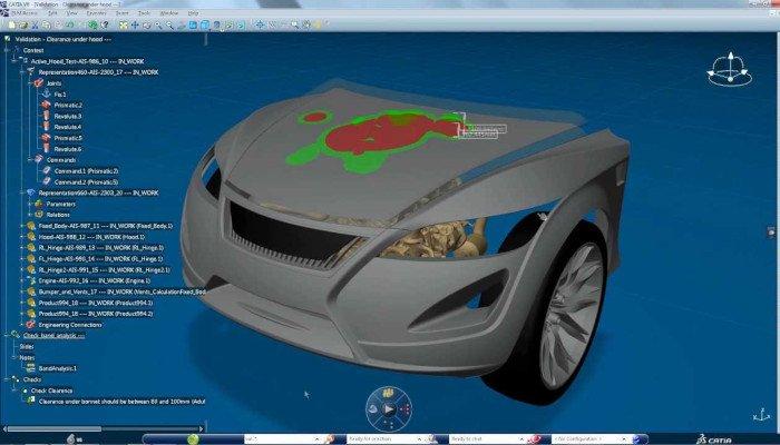 catia professional 3d software