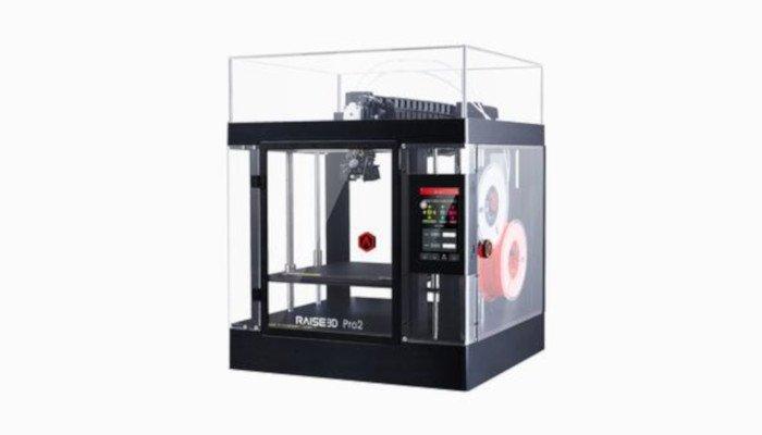 raise3d pro2 dual extruder 3d printer