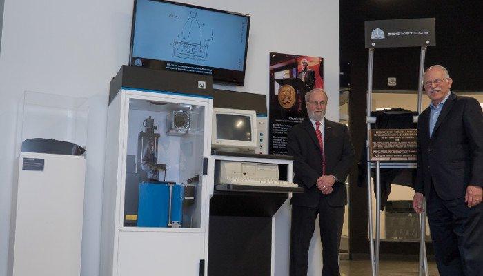 history of 3d printing 3d systems chuck hull sla-1 3d printer