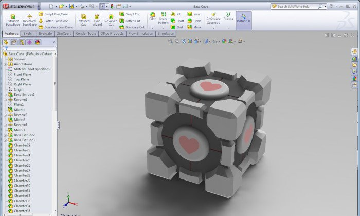 solidworks professional 3d software