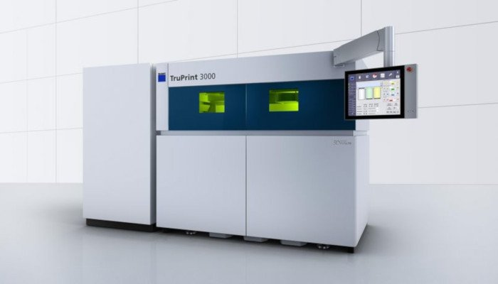 trumpf metal 3d printer