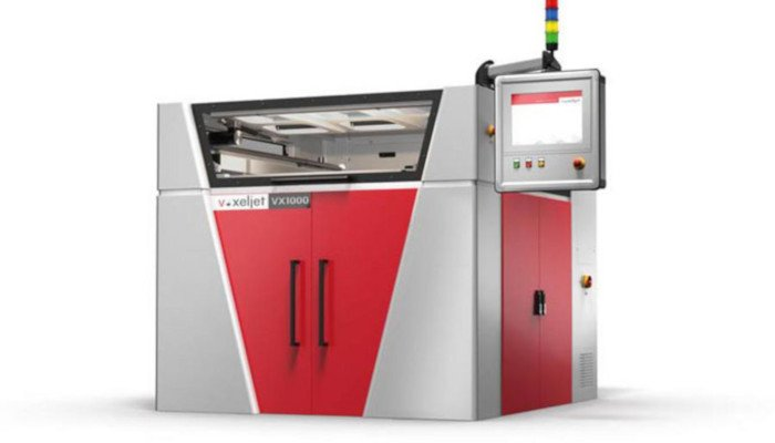 voxeljet metal 3d printer