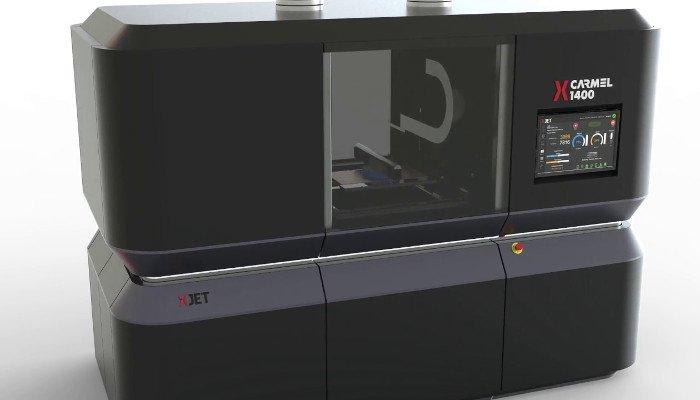 xjet nano particle jetting metal 3d printer