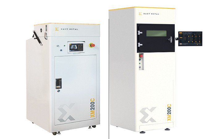 xact metal xm200c metal 3d printer