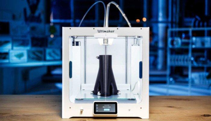 ultimaker s5 cartesian 3d printer
